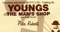 Visit Youngs the Mans Shop
