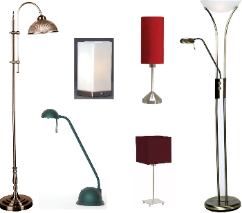 Lamps and Lamp Shades - Retail Listing