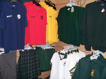 Uniforms - School Listing