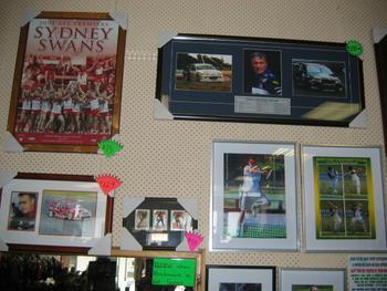 Sports Cards and Memorabilia Listing